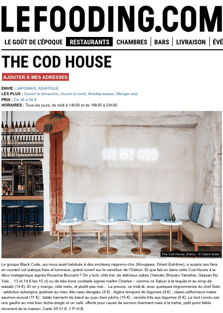 codhouse